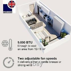 Morris 9000btu Air Conditionné Portable Wifi App 24 Heures Minuterie Ventilateur R290 1003w A