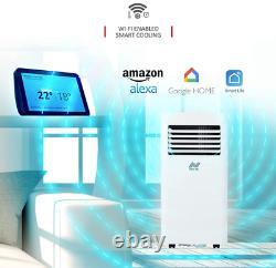 Netta 10000 Btu Climatiseur Portable, Déshumidificateur, Affichage Led, Wifi 1114w