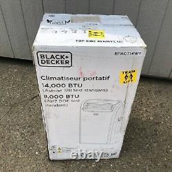 Noir + Decker Bpact14wt Climatiseur Portable 14000 Btu Autonome
