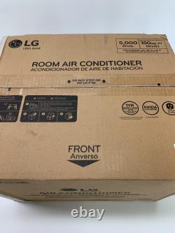 Nouveau In Box Lg Electronics 5 000 Btu Window Air Conditioner Avec Commandes Manuelles