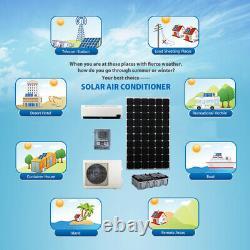 Portable Climatiseur Solaire Hors Temps De Back Up Système De Grille 8 Heures