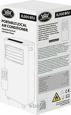 Prem-i-air 8000 Btu Climatiseur De Climatisation Portable À Distance