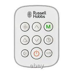 Russell Hobbs Rhpac11001 Climatiseur Et Déshumidificateur 11000 Btu Et Kit De Fenêtre