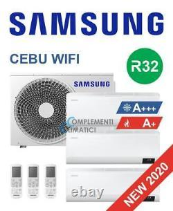 Samsung Air Conditioning Trial Split Onduleur Cebu Wifi 9000+9000+9000 Btu R32