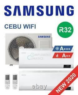 Samsung Climat Double Split Onduleur Cebu Wifi 9000+9000 Btu R32