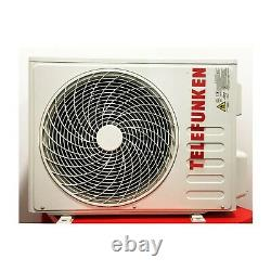 Telefunken 12000 Btu Facile D'ajustement DC Inverter Climatiseur Mural À Fente