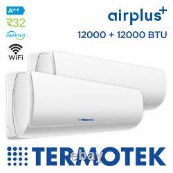 Termotek Airplus C12 Climatiseur À Double Division 12000 12000 Btu Inverter