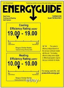 Thermopompe Mini Climatiseur Split Sans Conduit 9000 Btu, Cassette Plafond / Wifi