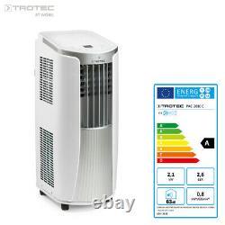 Trotec Climatiseur Mobile Monobloc Pac 2010 E 2,1 Kw / 7.200 Btu A Ree