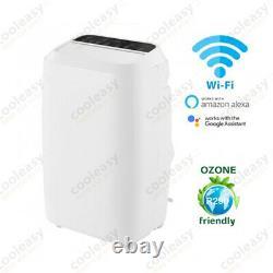 Unité De Climatisation Portable 14000 Btu 4.0kw Pompe À Chaleur Wifi Commande Vocale Nouvelle