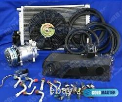Universal Underdash Air Conditioner 2v 450 Hd 5v 22000 Btu Avec Harnais Elec